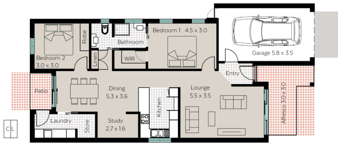 Eliza floor plan - click to expand